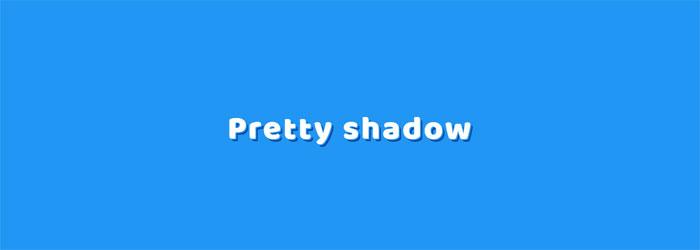 Pretty-shadow-https ___ cod CSS Efectos de texto: 116 ejemplos geniales que puedes descargar