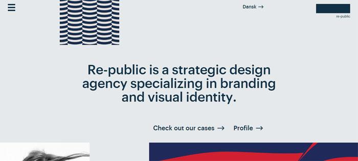 Re-public -–- Visual-identity Empresas de diseño gráfico cuyo trabajo debe revisar