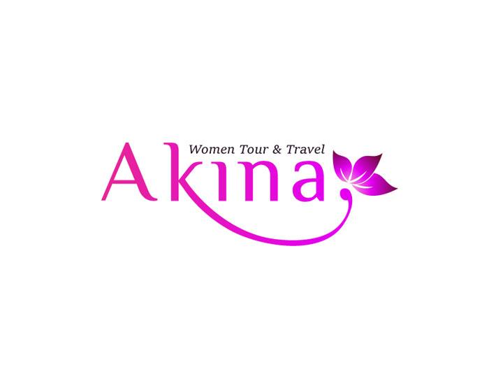 Ideas de diseño de logotipos de akina-logo-jadi Travel que debe utilizar en su próximo proyecto
