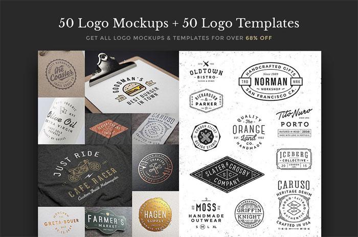 all-logo-mocks-templates-bu Plantillas de logos para descargar y usar para presentar sus logotipos