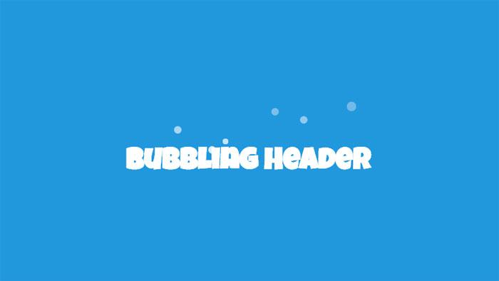 Efectos de texto CSS de efecto de texto burbujeante: 116 ejemplos geniales que puedes descargar