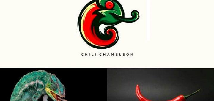 logotipo camaleon