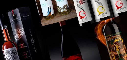 etiqueta de vinos