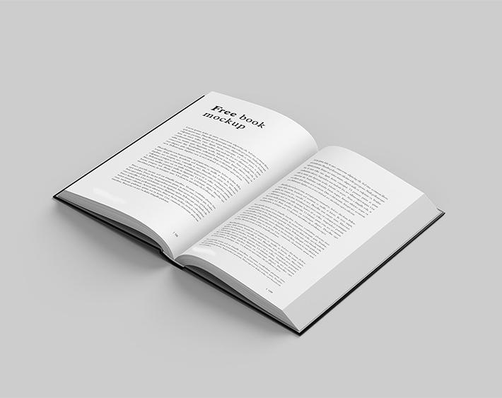 Plantilla de libro maqueta descarga gratuita PSD
