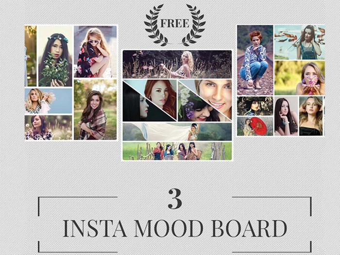 Free-insta-mood-board-2disp Plantillas de Instagram para descargar en tus presentaciones
