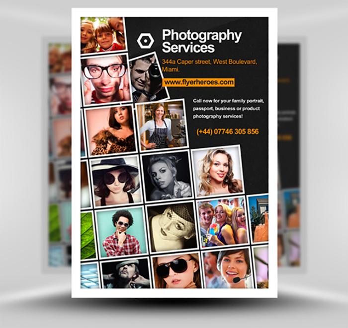 free-photography-flyer-temp 43 Flyer que debes descargar para tus clientes