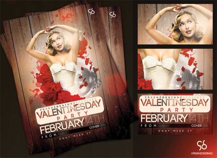 free_v__day_flyer_sample_by 43 Flyer que debes descargar para tus clientes