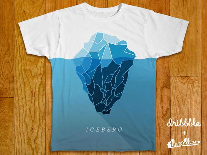 Ideas de diseño de camisetas de iceberg que te inspirarán a diseñar una camiseta