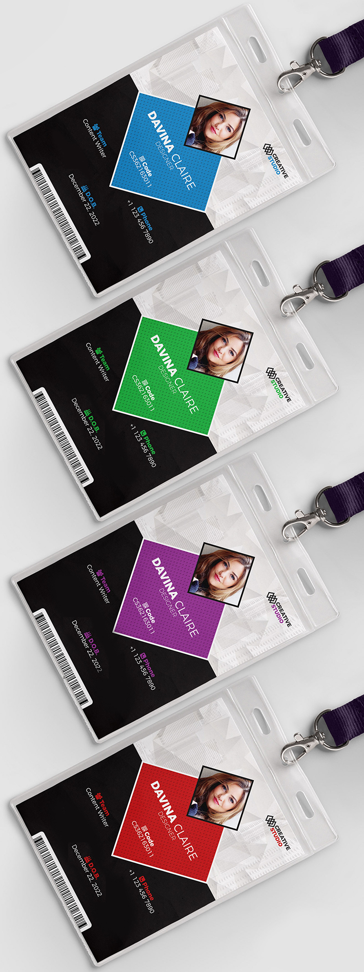 Descargar gratis Awesome Identity Card Template PSD (Freebie)