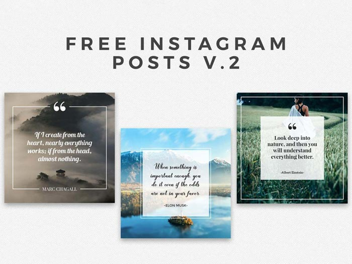 Instaframe-posts-v Plantillas de Instagram Mockup para descargar para tus presentaciones