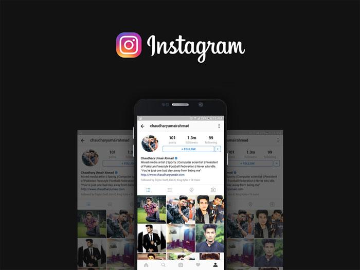 instagram-profile-mockup-20 Plantillas de Instagram Mockup para descargar para tus presentaciones