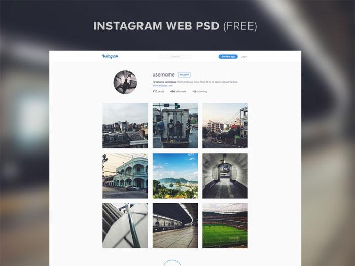 instagram_web_free Plantillas de Instagram Mockup para descargar para tus presentaciones