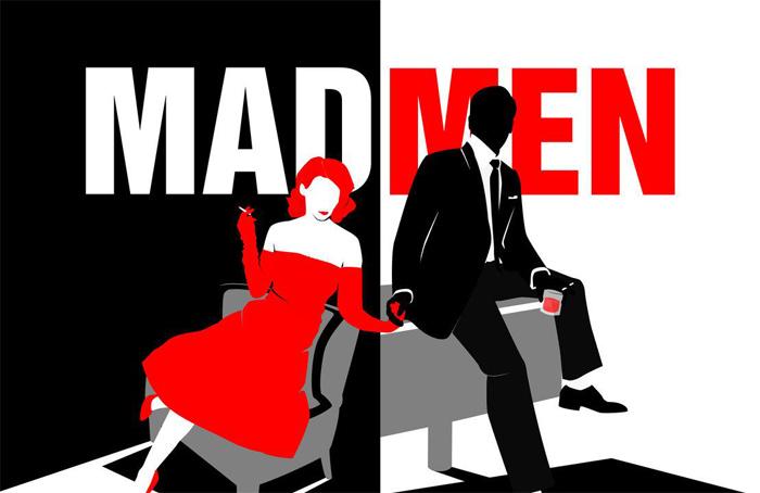Mad-men-poster-high-contras Principios de diseño gráfico: definición y conceptos básicos que necesita para un buen diseño