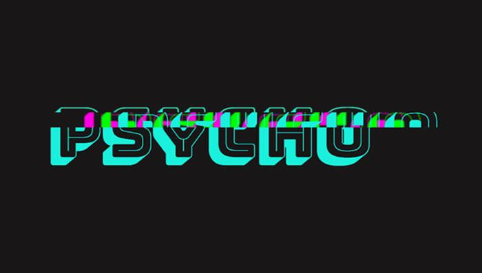 psycho-glitch-css-variables CSS Text Effects: 116 ejemplos geniales que puedes descargar