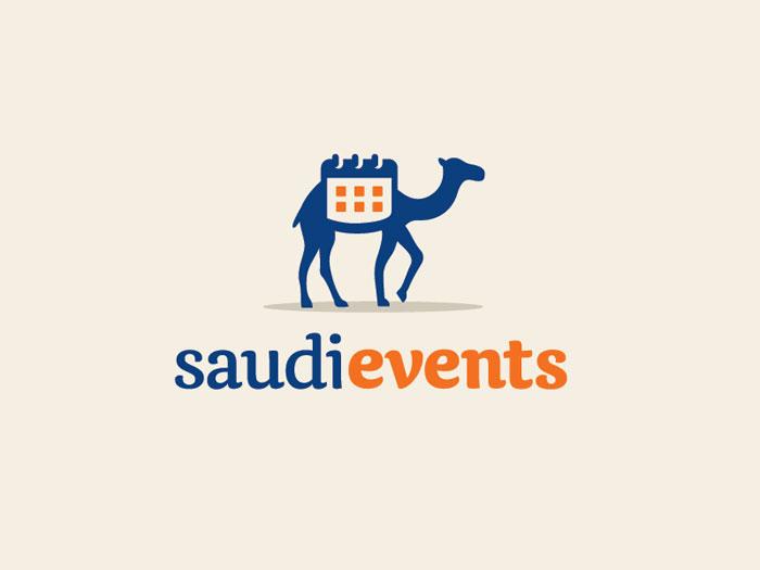 saudi-events_dribbble Ideas de diseño de logotipos de viajes que debe utilizar en su próximo proyecto