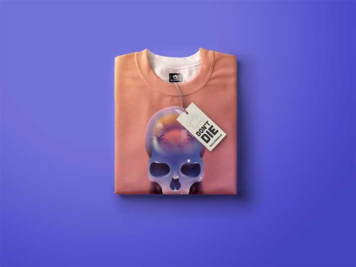 Ideas de diseño de camisetas con calaveras que te inspirarán a diseñar una camiseta