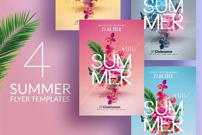 Summer-flyer - 700x466 43 Flyer que debes descargar para tus clientes