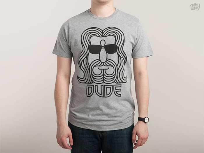 the_dude_by_alby_letoy Ideas de diseño de camisetas que te inspirarán para diseñar una camiseta