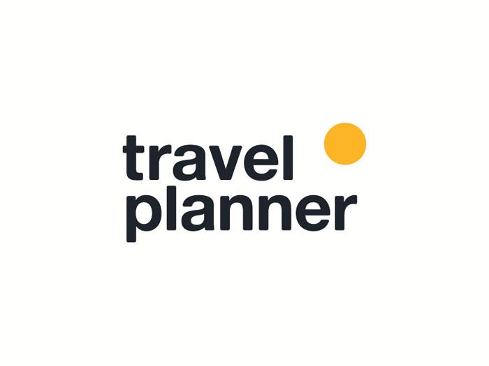 Travel_planner_identity Ideas de diseño de logotipos de viajes que debe utilizar en su próximo proyecto