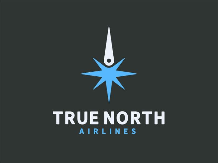 Ideas de diseño de logotipos de truenorthairlines Travel que debe utilizar en su próximo proyecto