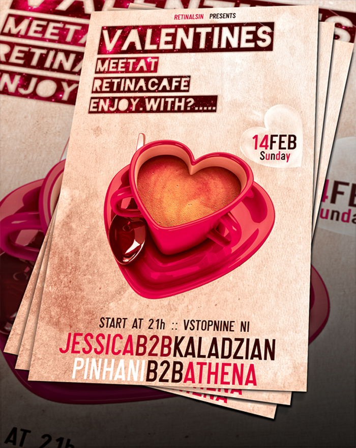valentines_day_flyer__psd __- 700x879 43 Plantillas de Flyer que debes descargar para tus clientes