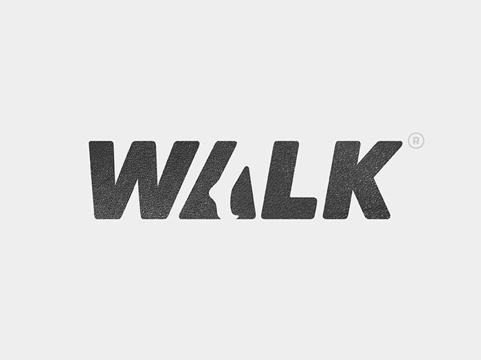 walk_logo Ideas de diseño de logotipo que debe utilizar para proyectos de marca