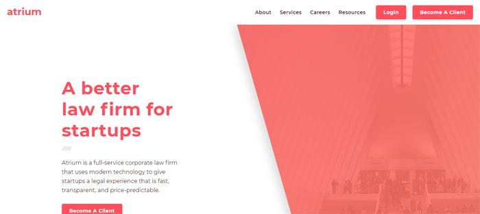 Atrium_-A-Better-Law-Firm-f Nuevas empresas nuevas en San Francisco con buenos diseños de sitios web