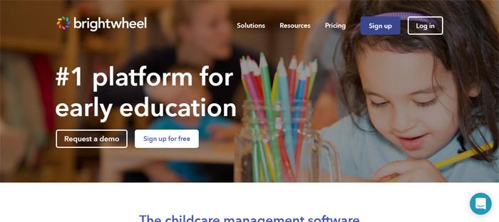Childcare-App-Software-fo Startups ordenadas en San Francisco con buenos diseños de sitios web