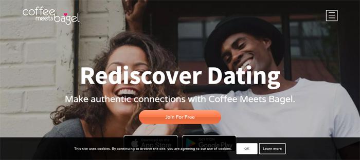 Coffee-Meets-Bagel-Coffee Nuevas empresas en San Francisco con buenos diseños de sitios web