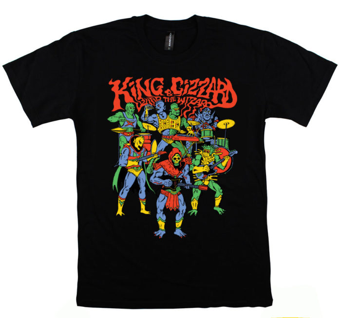 Custom-T-shirts-Melbourne-King-Gizzard-700x654 Cómo diseñar una camiseta: la mejor guía en línea