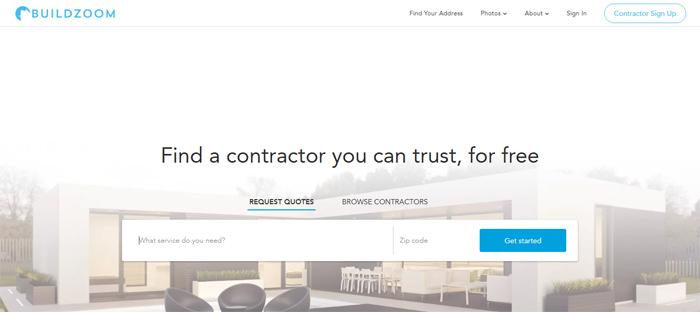 Encuentre-local-general-contract startups ordenadas en San Francisco con buenos diseños de sitios web