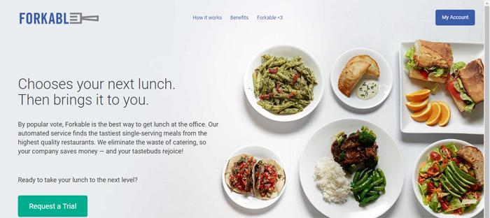 Forkable-https ___ forkable Neat startups en San Francisco con buenos diseños de sitios web