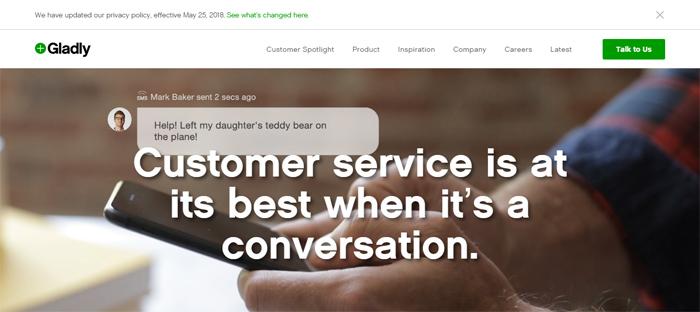 Gladly_-Customer-Service-Pl Arrancas nuevas en San Francisco con buenos diseños de sitios web