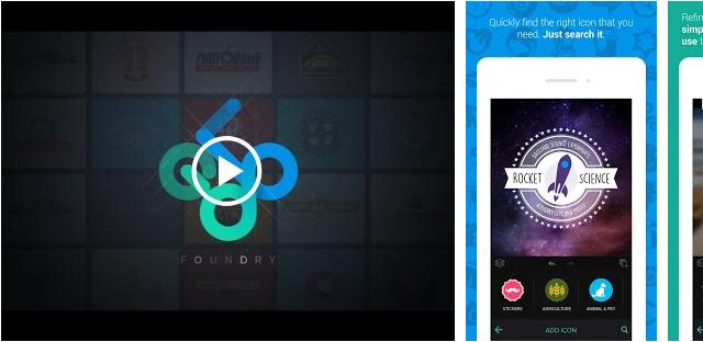 Logo-Maker-Logo-Creator Logo creador de ejemplos de aplicaciones para probar como alternativa a la contratación de un diseñador