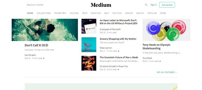 Medias nuevas en San Francisco con un buen diseño de sitios web.