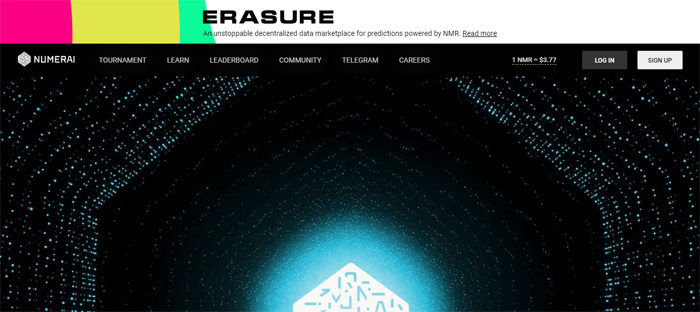 Numerai-https ___ numer Neat startups en San Francisco con buenos diseños de sitios web