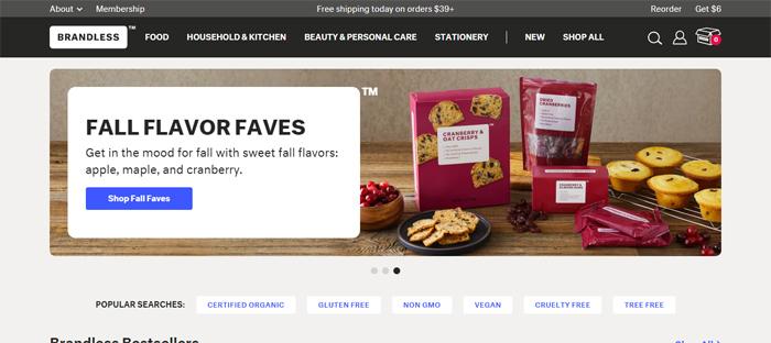 Online-Grocery-Shopping-B Startups ordenadas en San Francisco con buenos diseños de sitios web