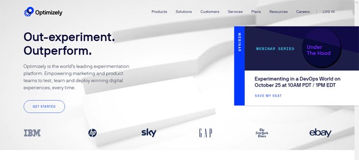 Optimizely_-The-Worlds-Lea Arrancas nuevas en San Francisco con buenos diseños de sitios web.