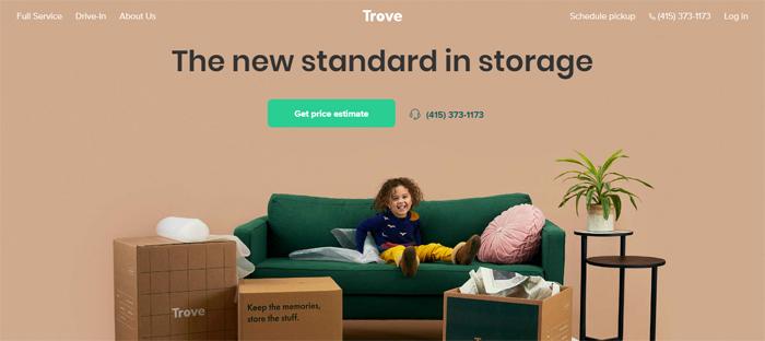 Trove_-Storage-in-The-San-F Neat startups en San Francisco con buenos diseños de sitios web