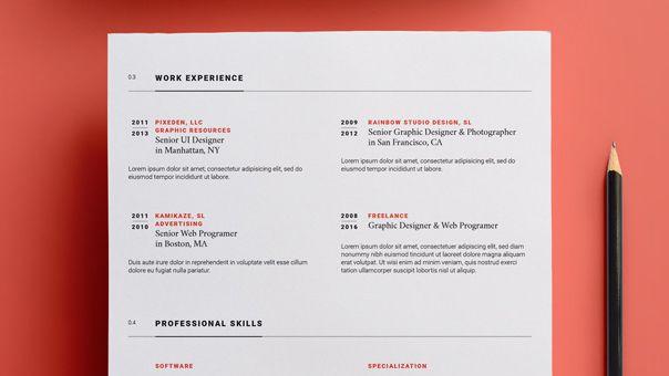 hojas de vida actualizada para diseñadores
