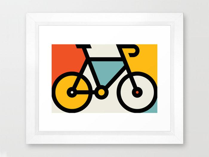 allanpeters_bikeart_dribbbl Definición de diseño gráfico: qué es y qué hace un diseñador gráfico