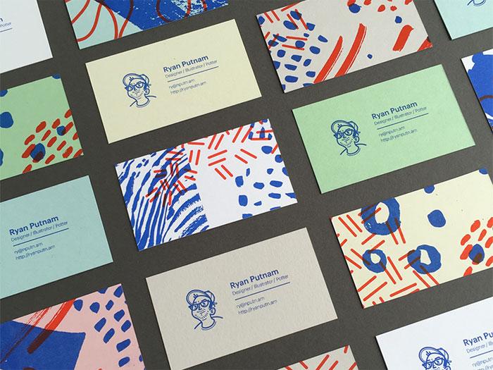 tarjetas de visita Definición de diseño gráfico: qué es y qué hace un diseñador gráfico