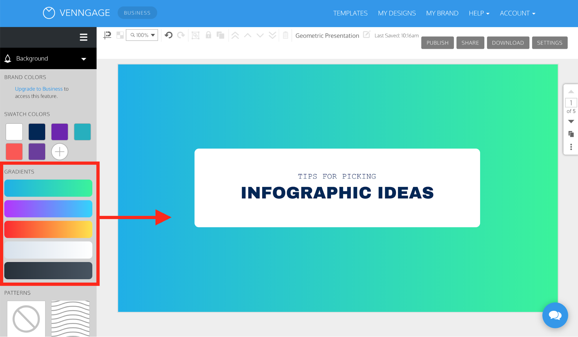 Tendencias de diseño gráfico