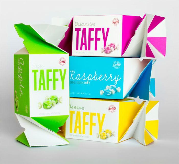 envases de caramelos, taffy-700x642 Envasado de dulces: todo lo que necesita saber sobre él