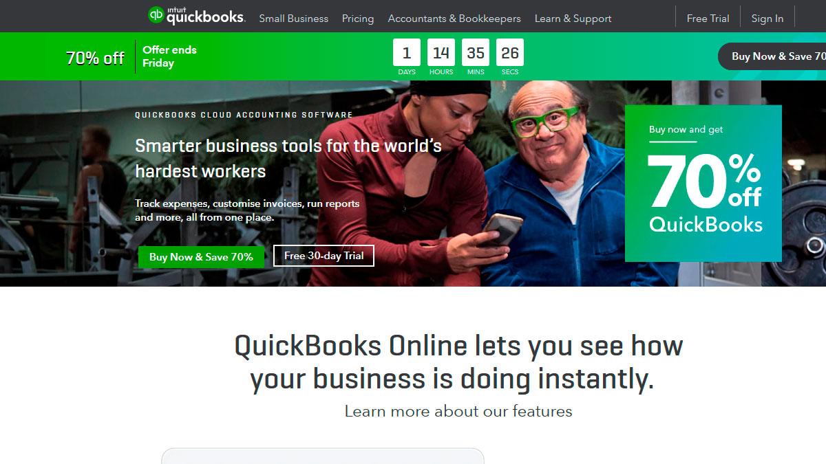 precios para diseñadores, Quickbooks.