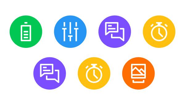 ilustración, Cómo crear un paquete de iconos de Android Launcher en Adobe Illustrator