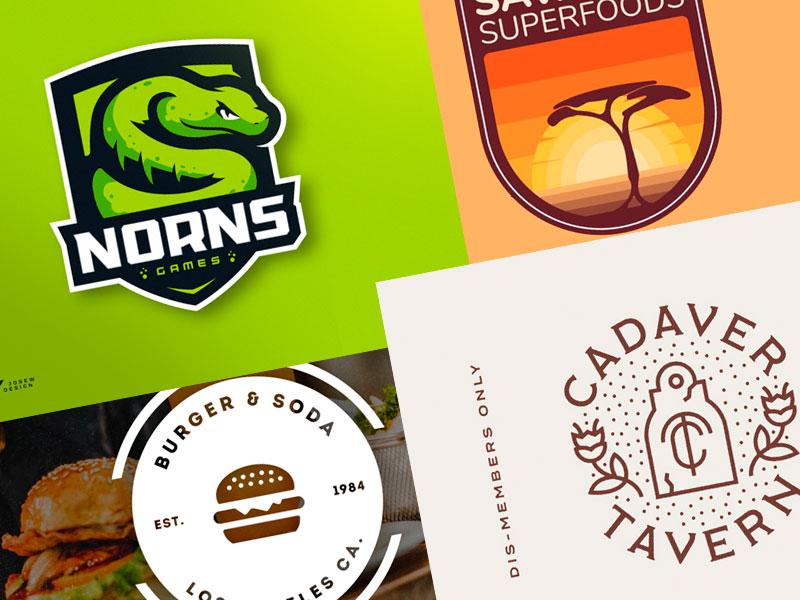 logotipos creados por diseñadores
