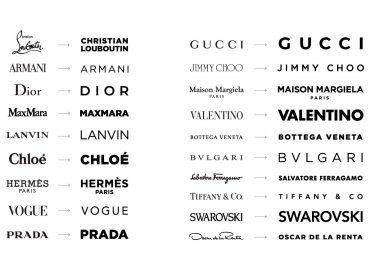 logos famosos y marcas de ropa