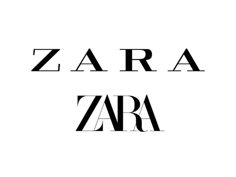 Zara con nuevo logo