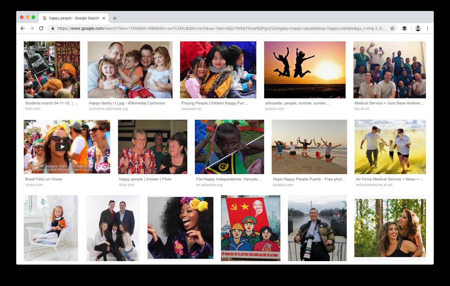 Búsqueda de imágenes de Google